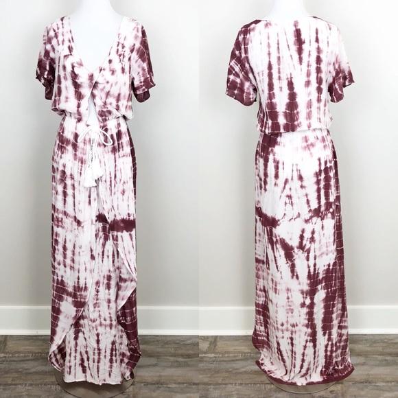 efb4141b1d Surf Gypsy Swim | Tie Dye Cover Up Maxi Dress Beach New | Poshmark